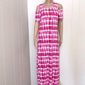 Women's design history dress size small tie dye
